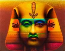 Ed Paschke, (American, 1939-2004), Pharaoh Grande, 2000