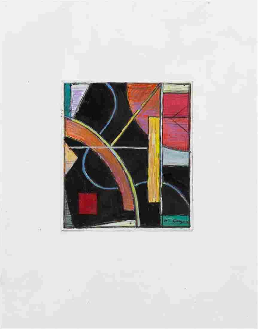 * William Conger, (American, b. 1937), Untitled (Pair),