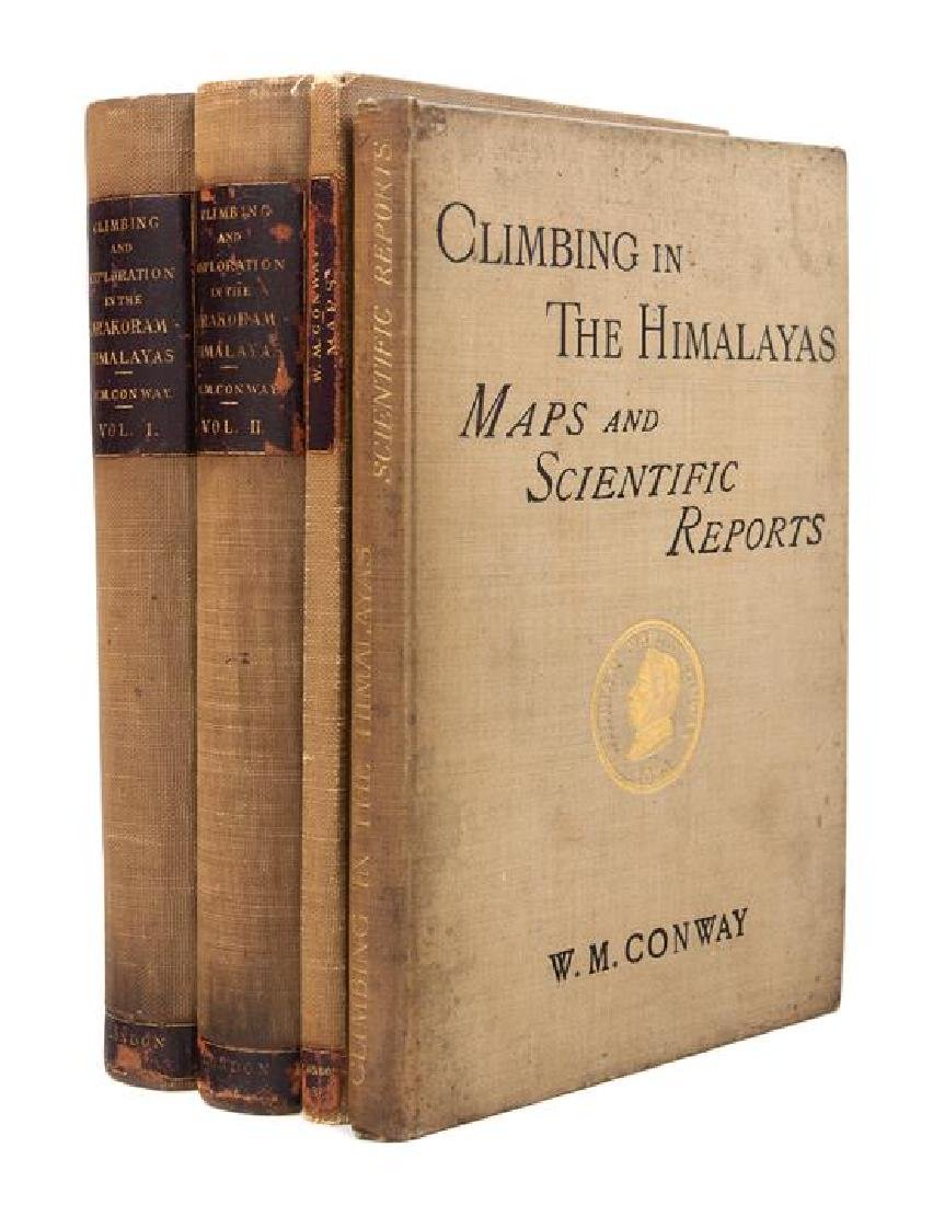 CONWAY, William Martin, Sir. Climbing and Exploration - 2