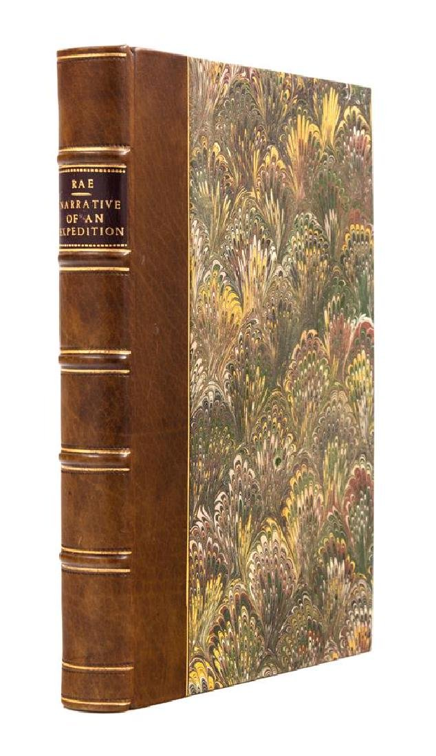 RAE, John (1813-1893). Narrative of an Expedition to - 2