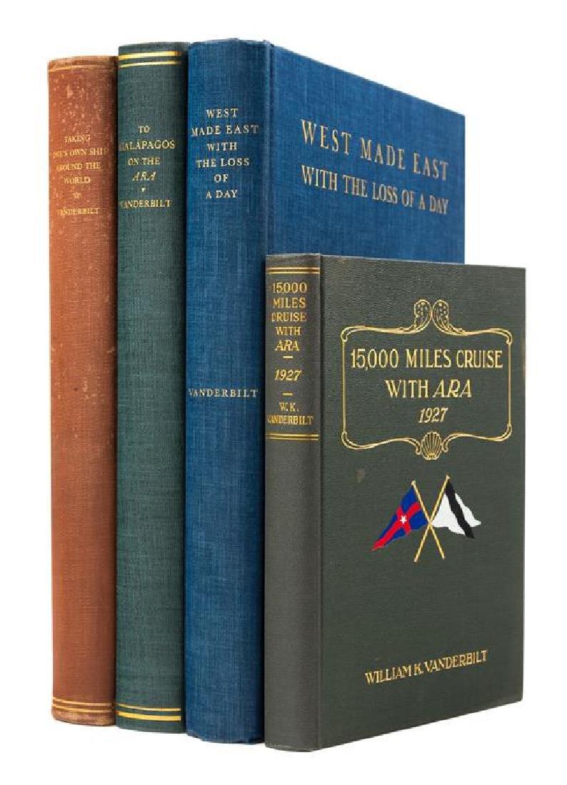 VANDERBILT, William Kissam Jr. (1878-1944). A group of