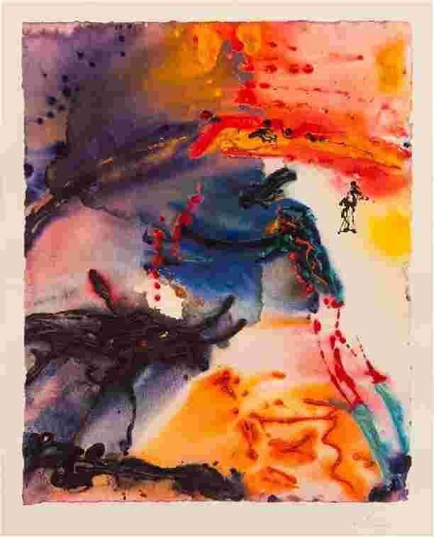 Lot 497: Salvador Dali (Spanish, 1904-1989) Adam and Eve