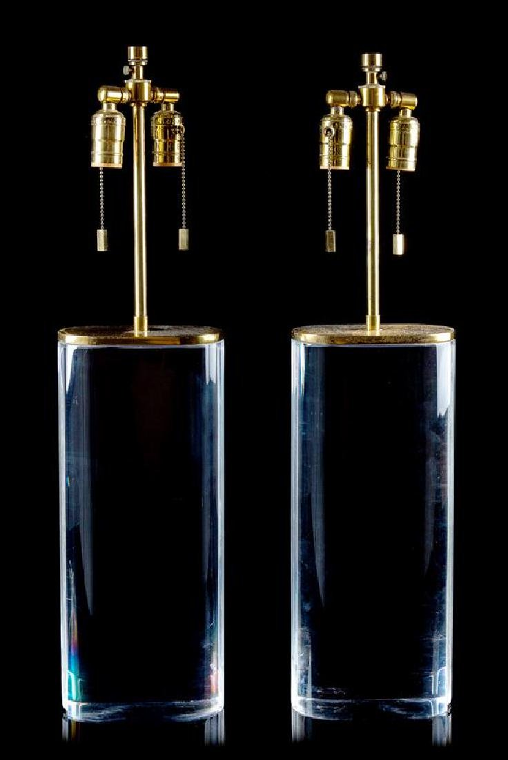 * Late 20th Century, , a pair of table lamps