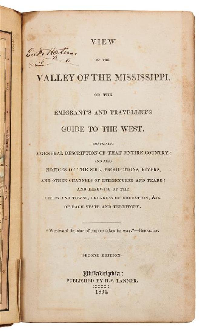 * [BAIRD, Robert. (1798-1863)]. A View of the Valley of