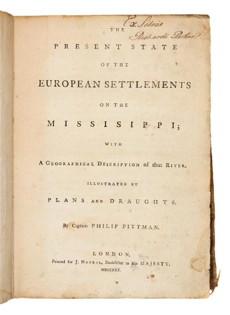 * PITTMAN, Philip. The Present State Of The European - 2