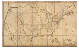 * MELISH, John. Map of the United States with the