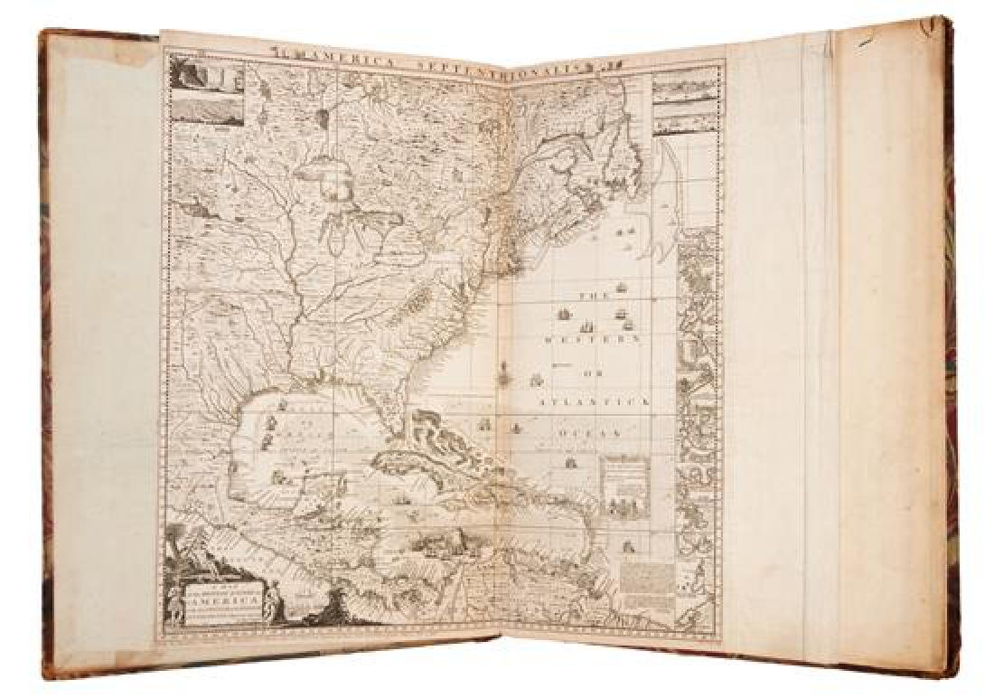 * POPPLE, Henry. A Map of the British Empire in America