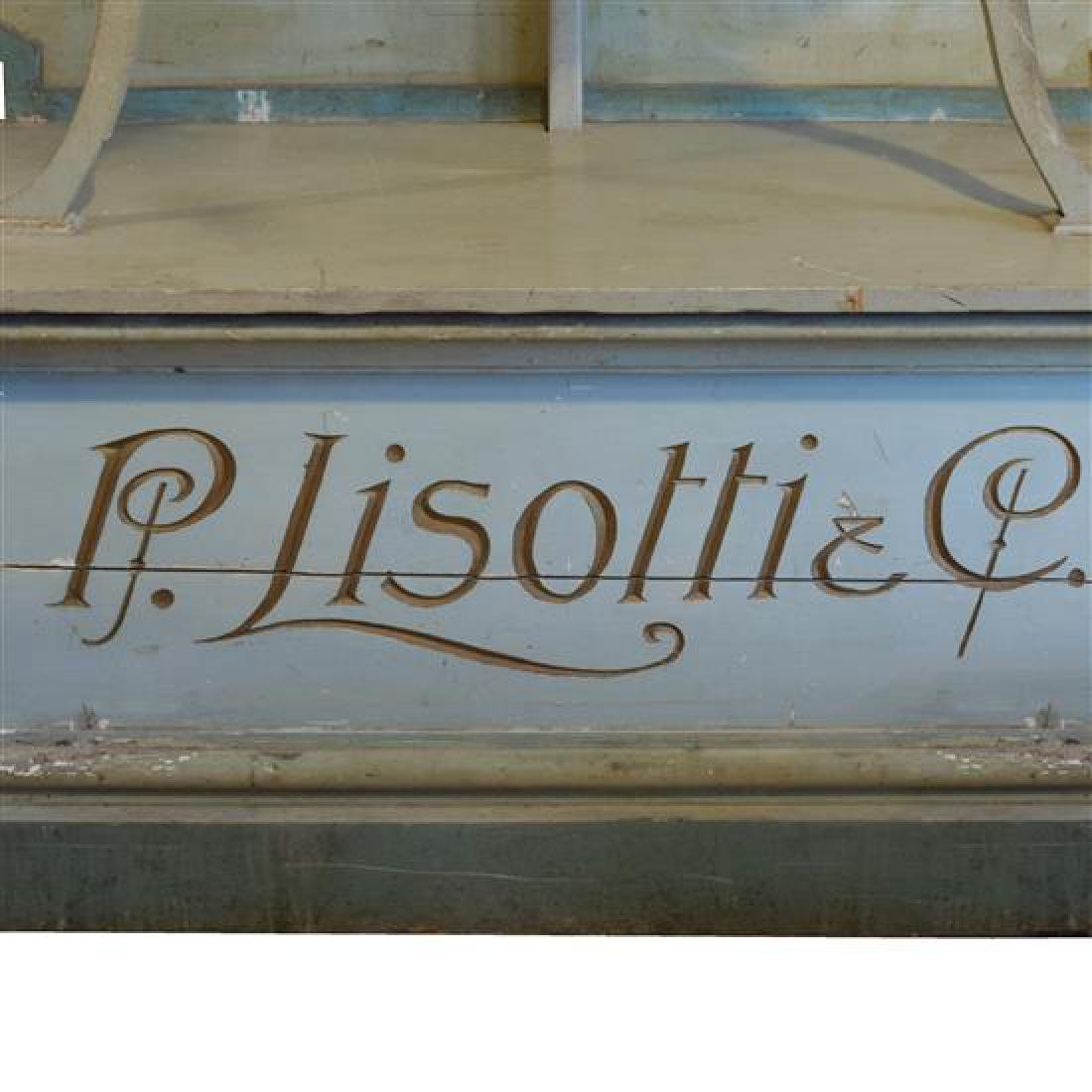 A Painted Six Tier Display Shelf for Lisotti Distilling - 2
