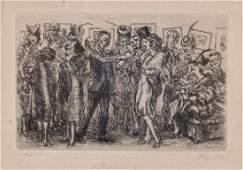 John Sloan, (American, 1871-1951), A Thirst for Art,