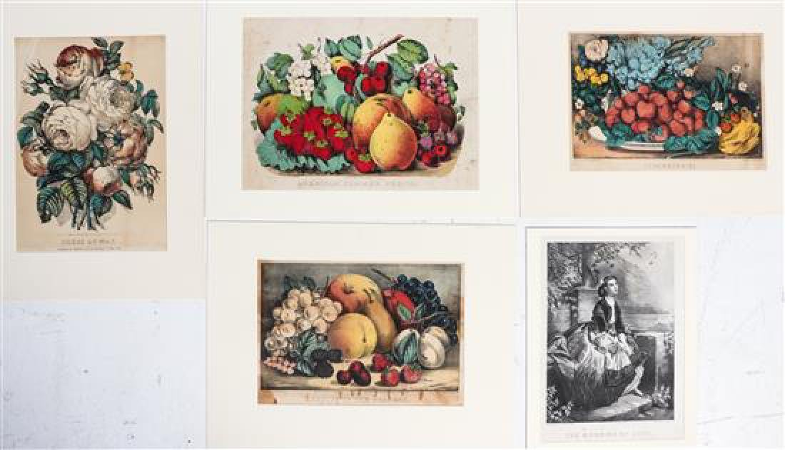 * A Group of American Prints Various sizes.