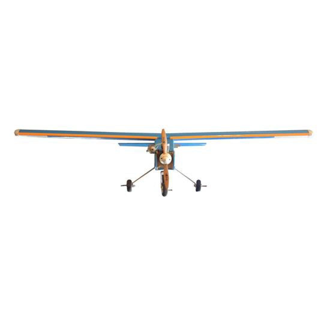 "A Remote Control Airplane 48"" W x 56"" D x 20"" H - 2"