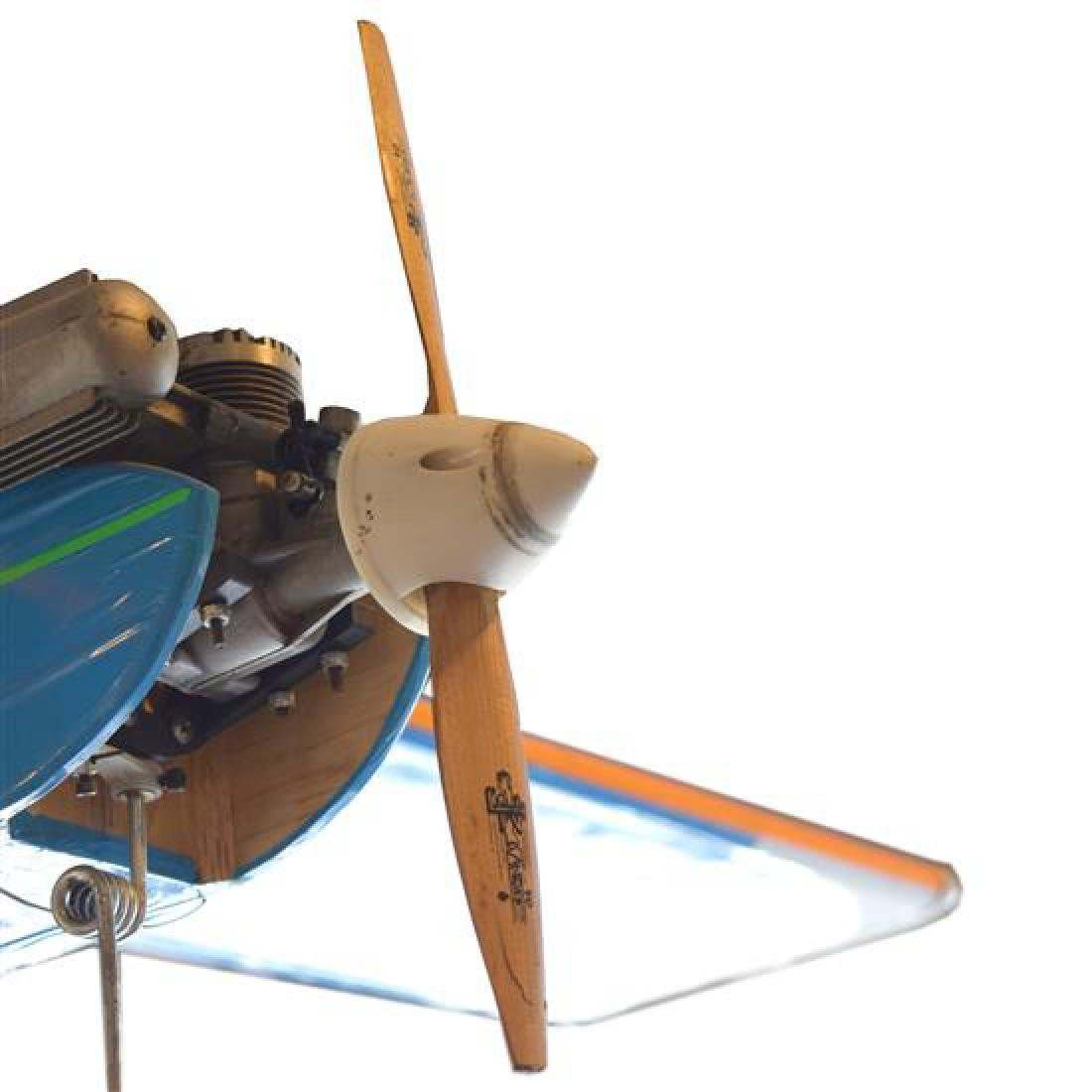 "A Remote Control Airplane 48"" W x 56"" D x 20"" H - 4"