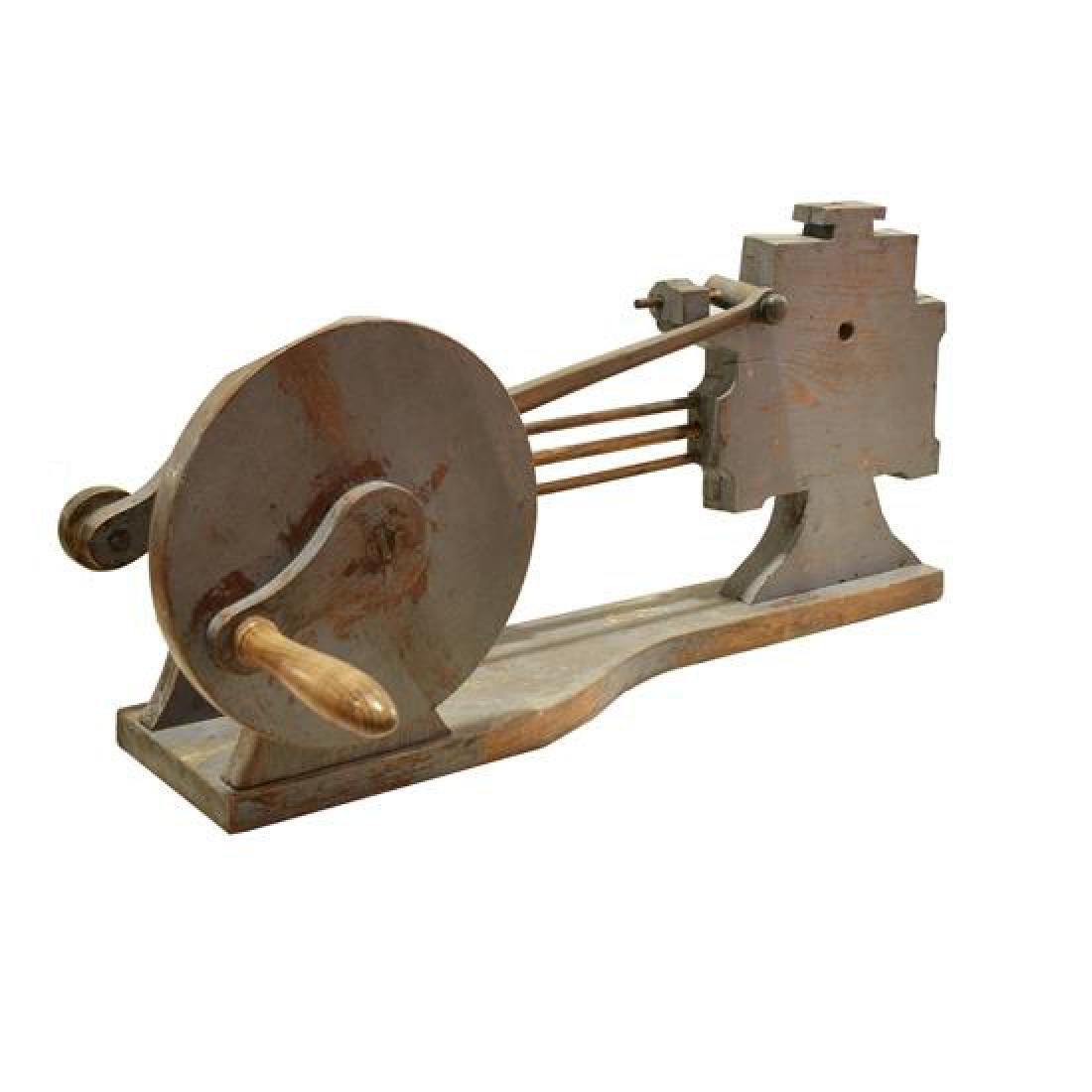 "A Wood Mechanical Teaching Model 28"" W x 14"" D x 12.5"" - 2"