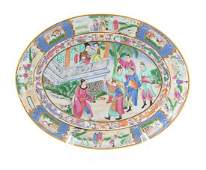 A Chinese Export Porcelain Platter