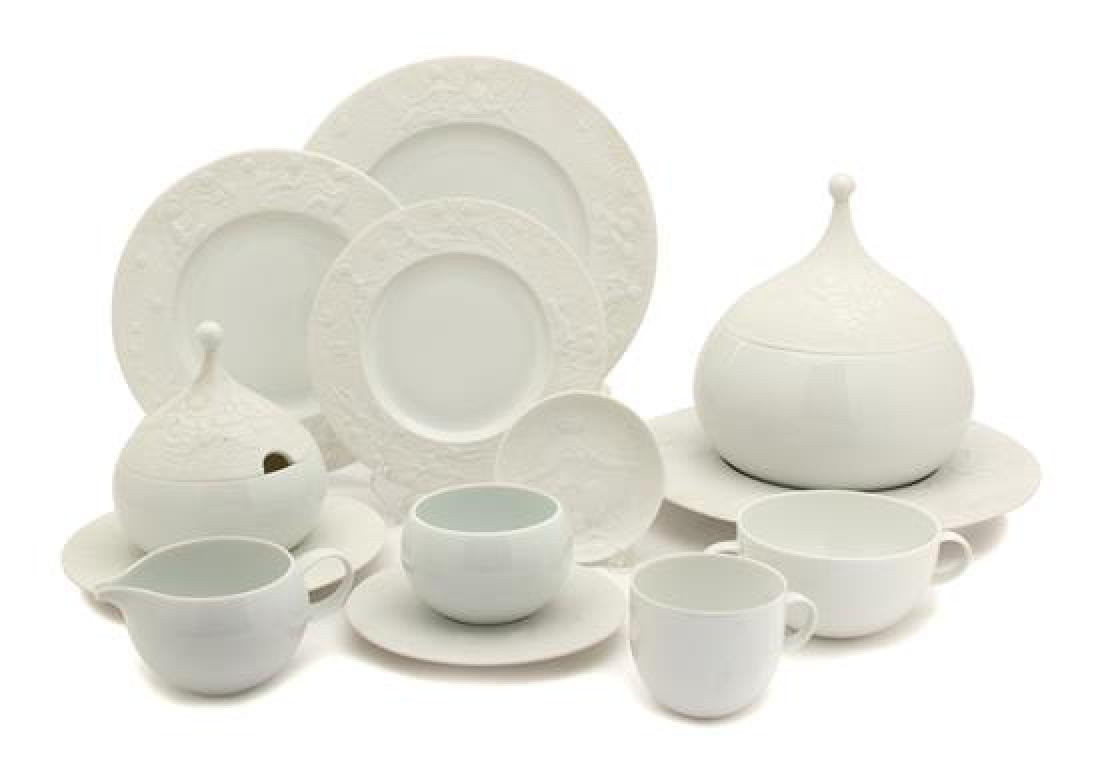 A Rosenthal Studio Line Porcelain Service Diameter of