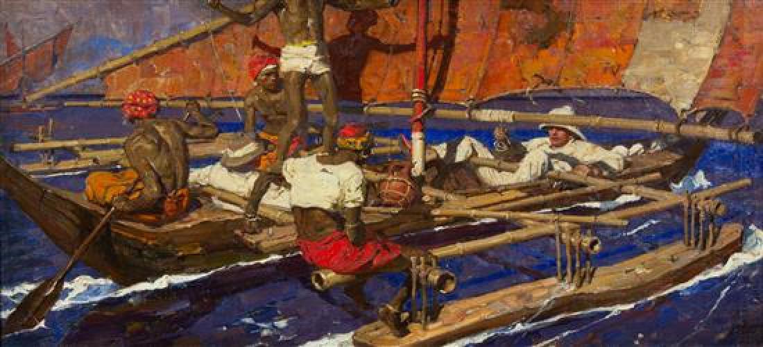 Dean Cornwell, (American, 1892-1960), Untitled,