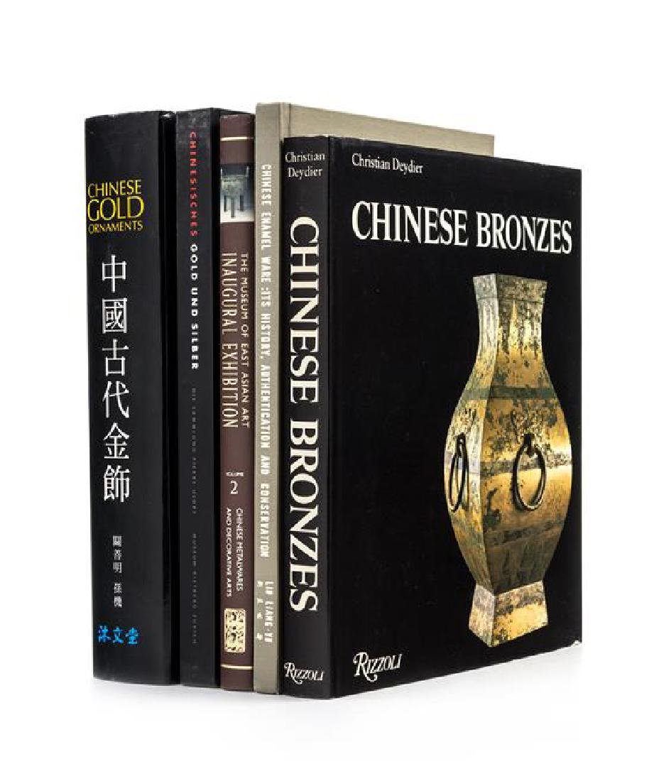 * 21 Books Pertaining to Chinese Bronze, Silver, Gold