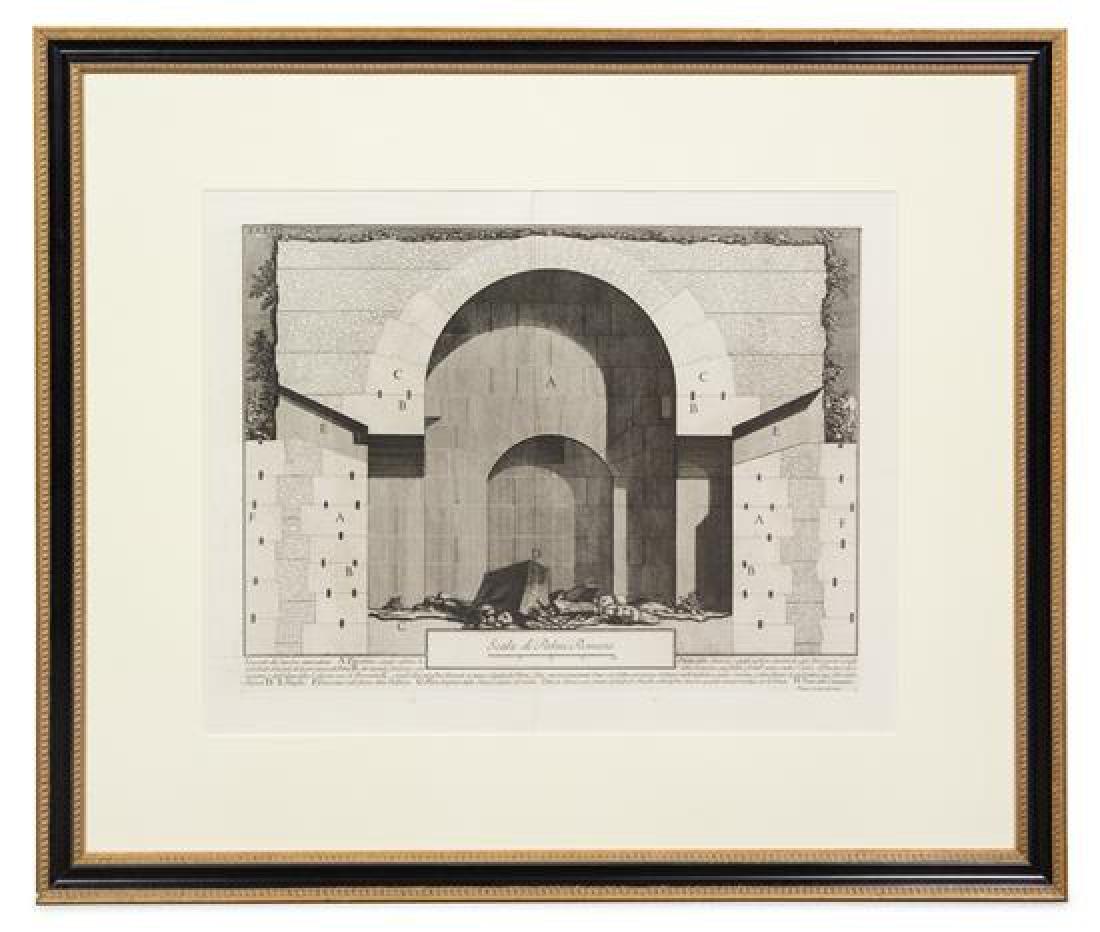 After Giovanni Battista Piranesi, (Italian, 1720-1778),