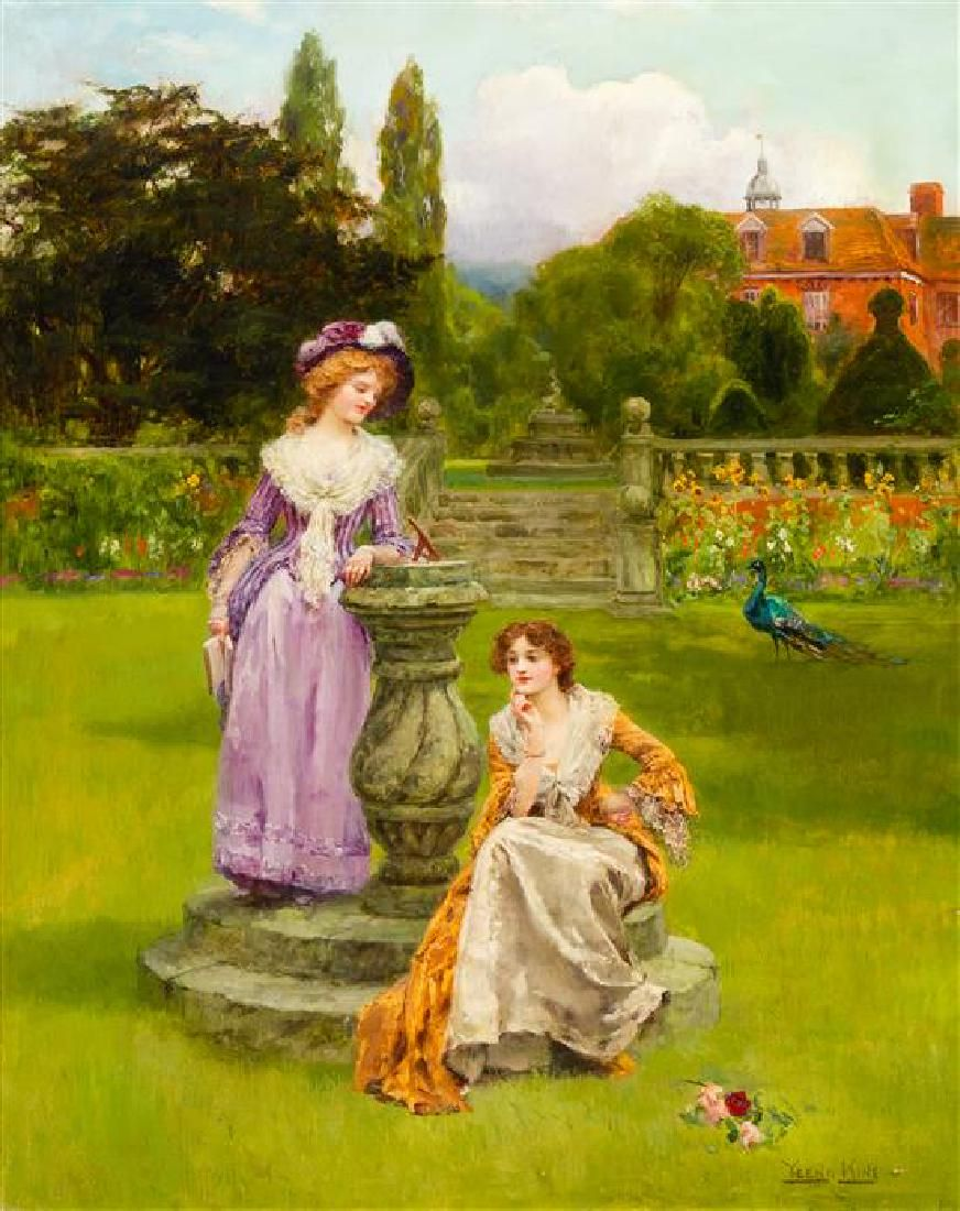 Henry John Yeend King, (British, 1855-1924), At the