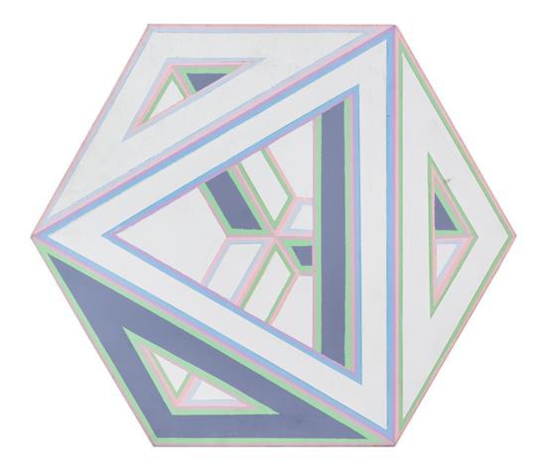 Al Loving, (American, 1935-2005), Septehedron LB4, 1970