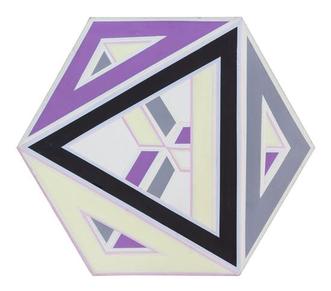 Al Loving, (American, 1935-2005), Septehedron #1, 1970