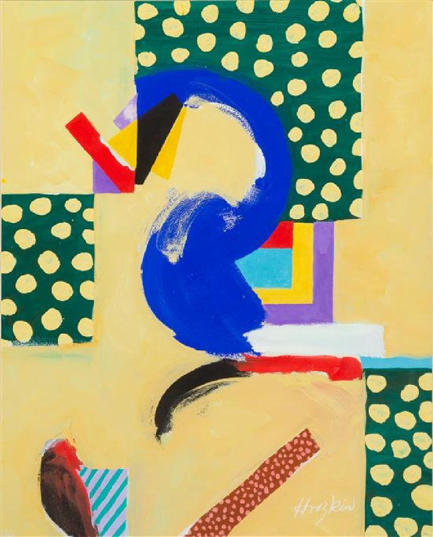 Howard Hodgkin, (British, 1932 - 2017), Abstraction,