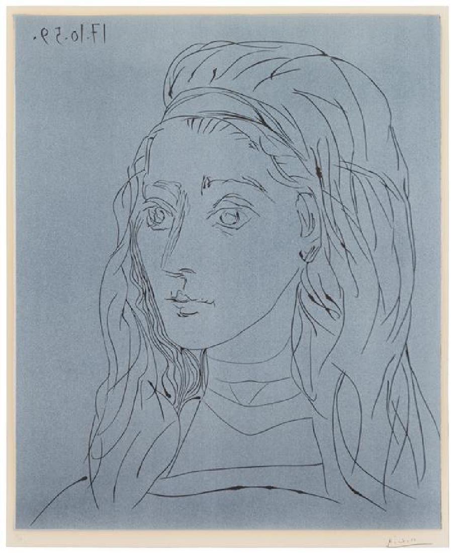 Pablo Picasso, (Spanish, 1881-1973), Jacqueline, 1959