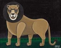 Shigeo Okumura Japanese 19371993 Lion 1972