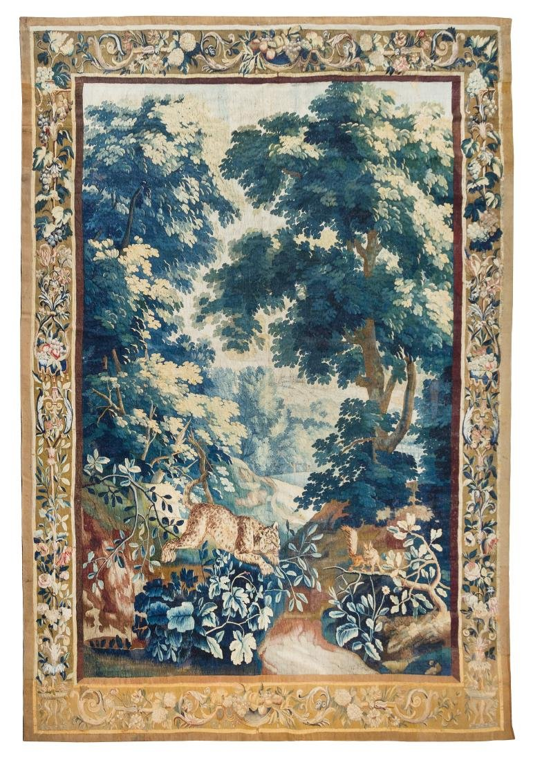 * A Beauvais Wool and Silk Tapestry 10 feet 6 inches x