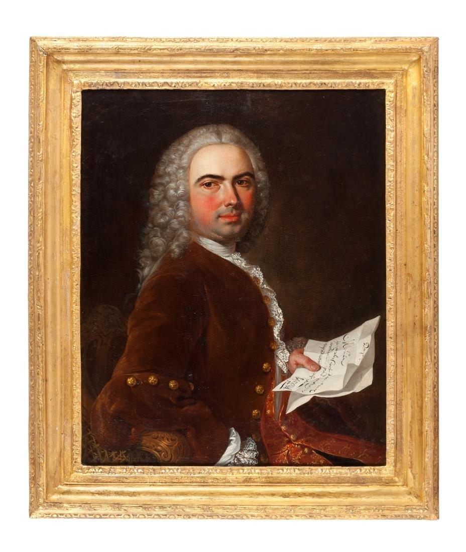 French School, (18th Century), Portrait of a Gentleman
