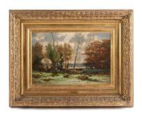 Alexandre Sege, (French, 1818-1885), Forest Landscape