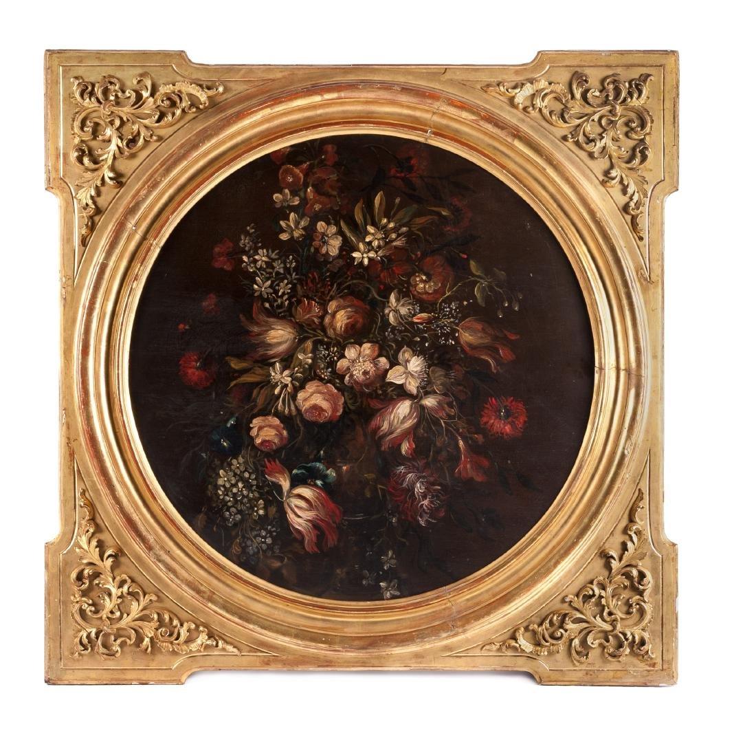 Continental School, (18th Century), Floral Still Life