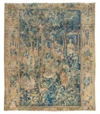 A Flemish Wool and Silk Mythological Tapestry