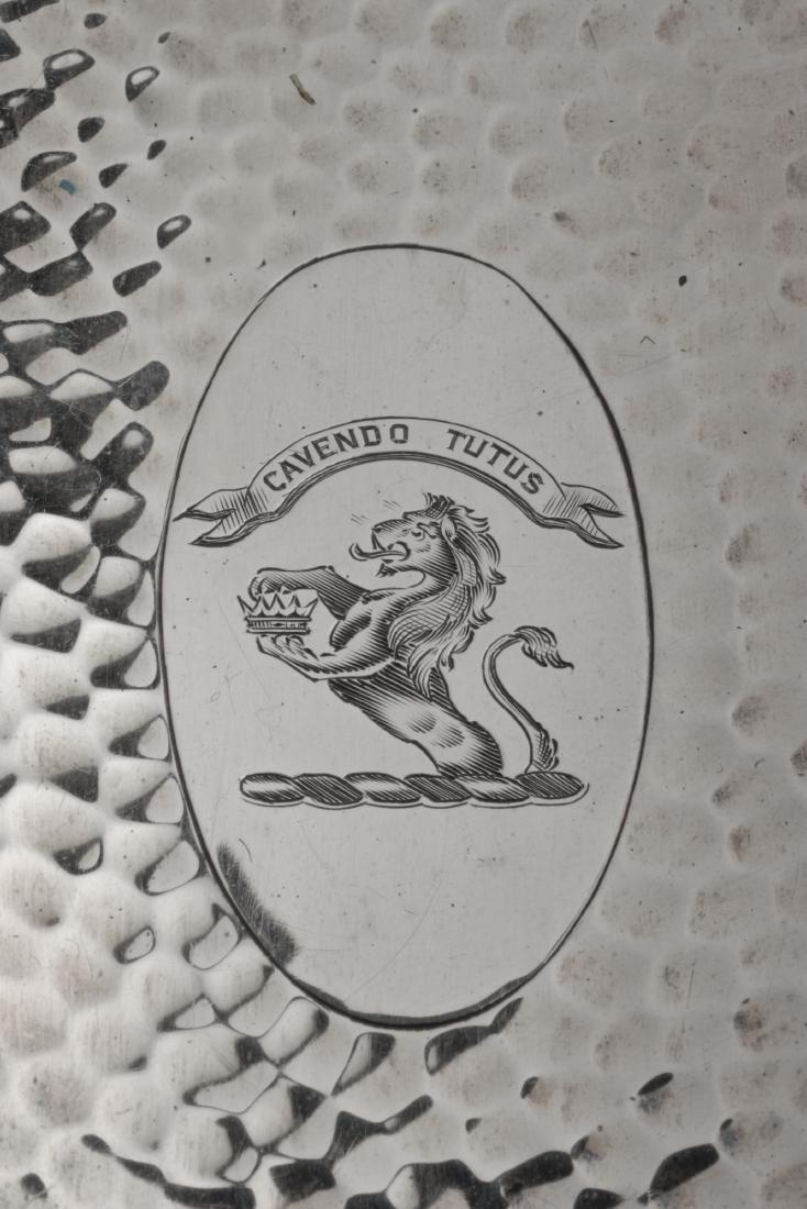 An Edwardian Silver Mounted Five-Piece Dresser Set, H. - 2