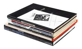 Group of Chicago Bauhaus Books