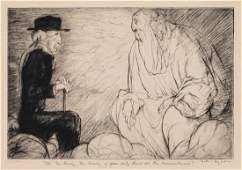 William Henry Dyson, (Australian, 1880-1938), Ah, Mr.