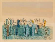 Attributed to Raoul Dufy, (French, 1877-1953), Untitled