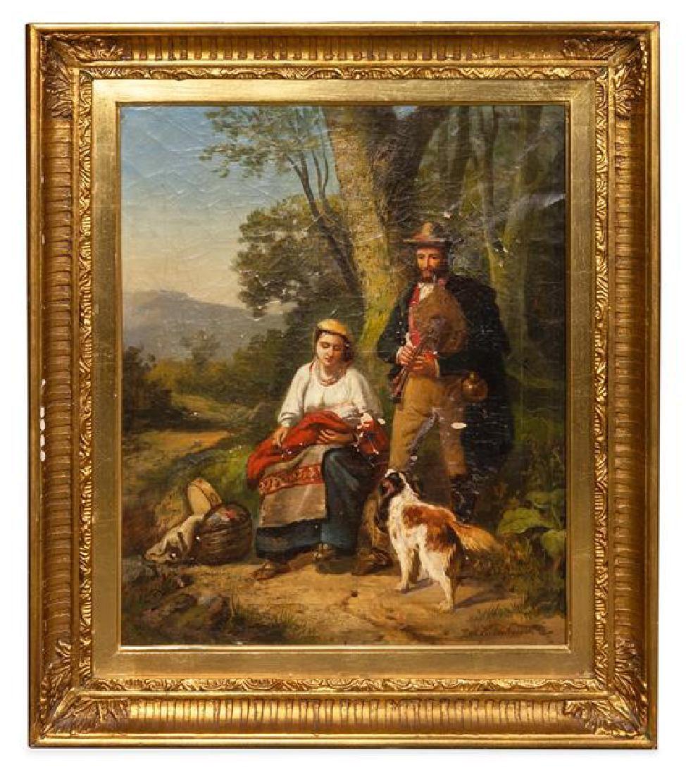 Jozef August Krolikowski, (German, 1811–1879), Untitled
