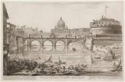 Giovanni Battista Piranesi, (Italian, 1720-1778), Roman