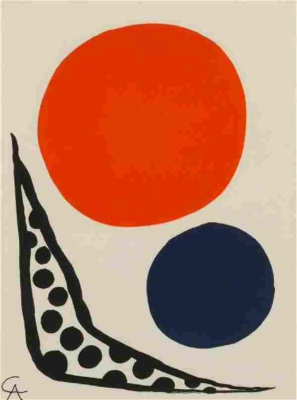 * Alexander Calder, (American, 1898–1976), Untitled