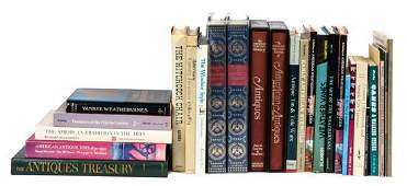 Group of Reference Books focused on Americana
