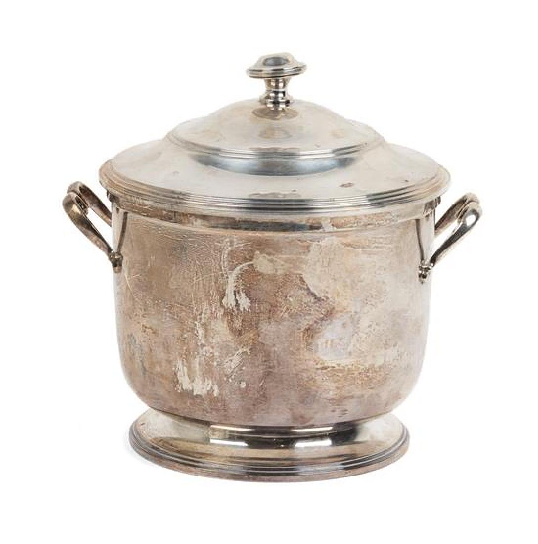 An American Silver Ice Bucket, Worden-Munnis Co.,