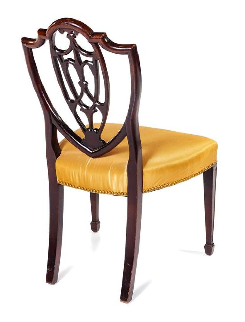 A Hepplewhite Style Mahogany Side Chair Height 36 3/4 - 2