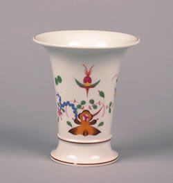 2: A Meissen Porcelain Vase, Height 8 inches.