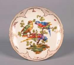A KPM Porcelain Cabinet Plate, Diameter 8 1/2 inche