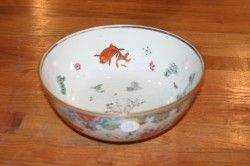 A Chinese Export Famille Rose Porcelain Bowl, Heig