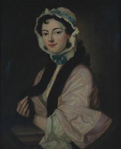 844: British School, , Portrait of a Lady