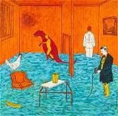 Jane Hammond, (American, b. 1950), Untitled (249, 201,