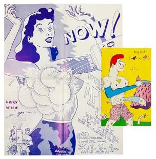 The Hairy Who? (Jim Faulkner, Art Green, Jim Nutt,