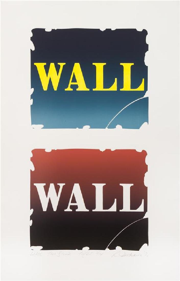 * Robert Indiana, (American, 1928-2018), Wall: Two